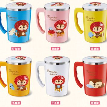 Sanrio Kireizukin Seikatsu 7-11 Limited 6 Type 304 Stainless Steel Tea Cup Mug Set