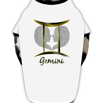 Gemini Symbol Dog Shirt