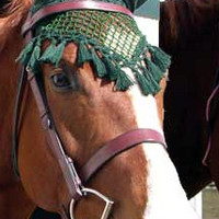 Saddles Tack Horse Supplies - ChickSaddlery.com Crocheted Fly Bonnet