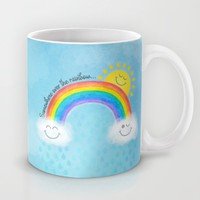 Somewhere over the rainbow... Mug by Noonday Design | Society6