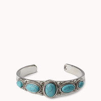 Western-Style Stone Cuff | FOREVER 21 - 1053650395