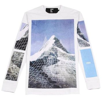 "Hood By Air ""Mountains"" Long Sleeve"