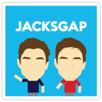 Jacksgap logo sticker
