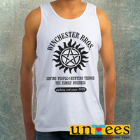 Winchesters Bros Clothing Tank Top For Mens