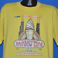 90s Rainbow Cone Taste of Chicago t-shirt Extra Large