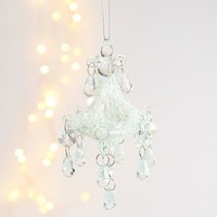 Glittery Glass Chandelier Bauble
