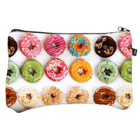 Donuts Makeup Case