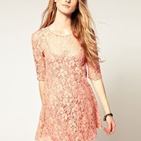 Free People | Free People Lace Shift Dress at ASOS