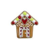Origami Owl Custom Jewelry | Gingerbread House Charm