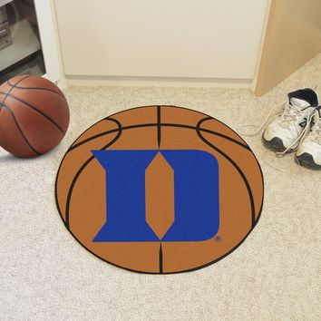 "Duke 'D' Basketball Mat 27"" diameter"