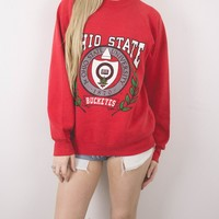 Vintage Ohio State University Sweatshirt