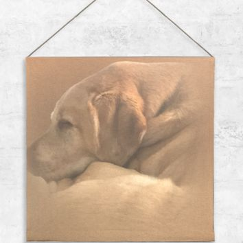 Yellow Lab 2 Tapestry