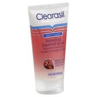 Clearasil Daily Clear Refreshing Superfruit Scrub, Raspberry & Cranberry Extracts - CVS pharmacy