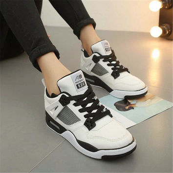 2017 Shoes Woman Sneakers Women Sports Shoes Running Outdoor Wedge Non-slip Trainers Brand zapatillas deportivas zapatos mujer