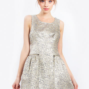 Sparkling Tweed Dress