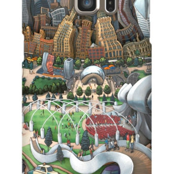 Michael Birawer Chicago Bean Galaxy S6 Edge Plus Slim Case