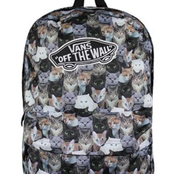 Vans ASPCA Cats Realm Backpack - Buy Online at Grindstore.com