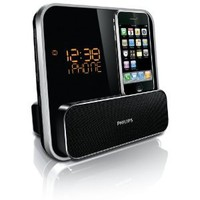 Amazon.com: Philips DC315/37 Speaker System for 30-Pin iPod/iPhone with LED Clock Radio (Black): MP3 Players & Accessories