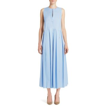 Rachel Comey Sereno Dress - Pleated Skirt Dress - ShopBAZAAR