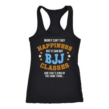 BJJ Tank Top  - Money can't buy happiness but it can buy BJJ classes