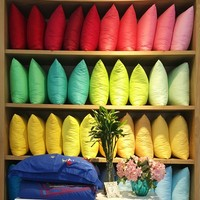 Solid Color Pillow Covers - 3 Sizes - 21 Colors