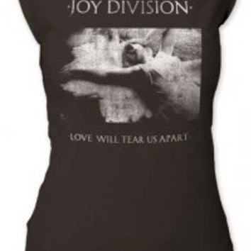 JOY DIVISION - LOVE WILL TEAR US APART JUNIORS CUT TEE