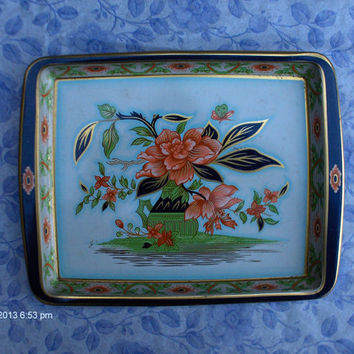 Vintage Daher Decorated Ware Tin Serving Trays