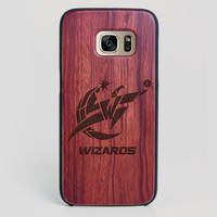 Washington Wizards Galaxy S7 Edge Case - All Wood Everything