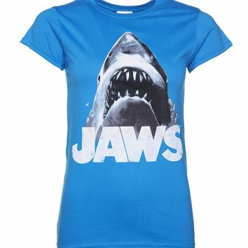 Women's Jaws You're Gonna Need A Bigger Boat T-Shirt