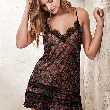 Chiffon & Lace Slip - Very Sexy - Victoria's Secret