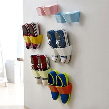 Shoe Shelf Stand Organizer Wall Rack