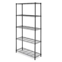 Supreme 5 Tier Shelving Black