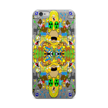 The Simpsons Vaporwave iPhone 6/6s 6 Plus/6s Plus Case
