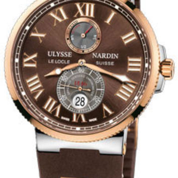 Ulysse Nardin - Marine Chronometer 43mm - Stainless Steel and Rose Gold
