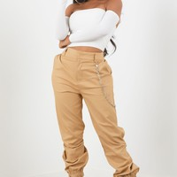 Chained Trousers - Mocha
