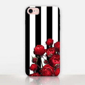 Rose Phone Case - iPhone 7 Case - iPhone 7 Plus Case - iPhone SE Case - iPhone 6S case - iPhone 6 case - iPhone 5 Case  Samsung S7