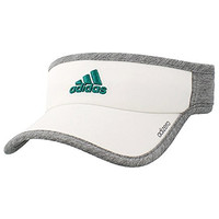 adidas Womens Adizero Ii Visor, White/Grey/Clear Onix/Eqt Green, One Size