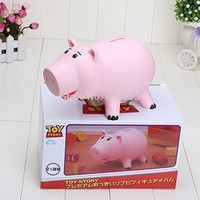 "8""20cm Toy Story Hamm Piggy Bank Pink Pig Model Toys with no box"