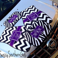 Car Mats, Personalized/Monogram Car Mats Complete Set