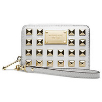MICHAEL Michael Kors Handbag, Pyramid Stud Multi Function Phone Case - Wallets & Wristlets - Handbags & Accessories - Macy's