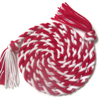 Red and White Candy Cane Jump Rope