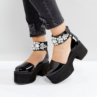 ASOS OPIA Embellished Heeled Shoes at asos.com
