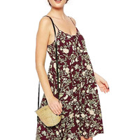 Camisole Dress In Floral Print