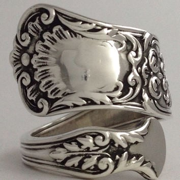 Size 5 Vintage Sterling Silver Gorham Spoon Ring