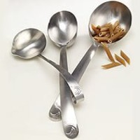 Weight Watchers Points Plus 2012 Easy Measure Set 3 Measuring Spoons Portion Control NEW