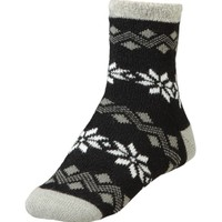 Yaktrax Women's Cozy Flakes Cabin Socks | DICK'S Sporting Goods