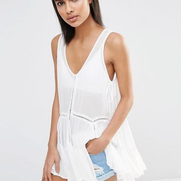 Vila Tiered Shell Top