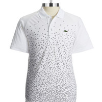 Lacoste Patterned Polo Shirt