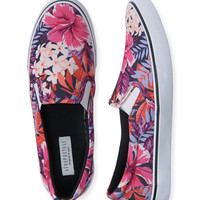 Hibiscus Slip-On Deck Shoe