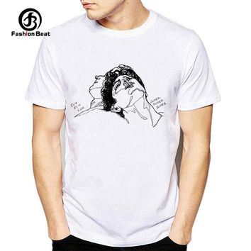 Call Me By Your Name Classic Movie T Shirt Men Printed T-Shirt Timothee Chalamet Short Sleeve Casual Design Tshirt Hipster Tops